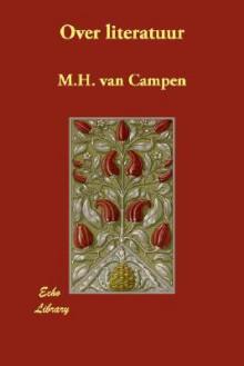 Over Literatuur - M. Van Campen