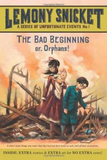 The Bad Beginning - Brett Helquist, Lemony Snicket, Michael Kupperman