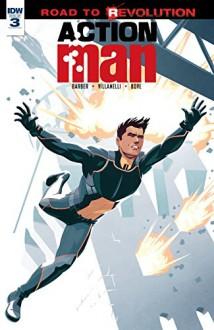 Action Man #3 - Paolo Villanelli, Chris Evenhuis, John Barber