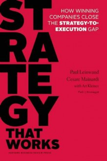 Strategy that Works: How Winning Companies Close the Strategy-to-Execution Gap - Cesare R. Mainardi,Paul Leinwand