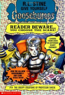 The Creepy Creations of Professor Shock - R.L. Stine