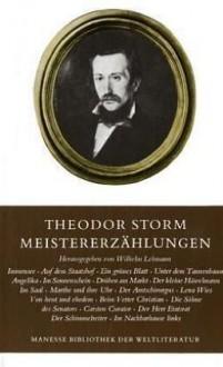 Meistererzählungen - Theodor Storm, Wilhelm. Lehmann