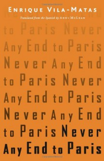 Never Any End to Paris - Enrique Vila-Matas