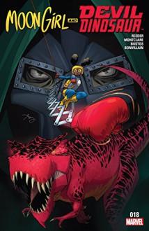Moon Girl and Devil Dinosaur (2015-) #18 - Amy Reeder,Brandon Montclare,Amy Reeder,Natacha Bustos