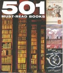501 Must-Read Books - Emma Beare