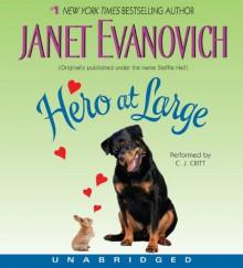 Hero at Large CD - Janet Evanovich