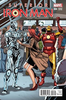 Superior Iron Man #4 1-in-20 Variant Cover Edition - Tom Taylor, Yildiray Cinar, Tom Taylor