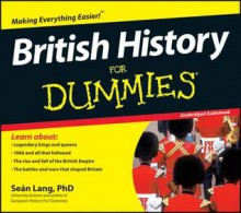 British History for Dummies Audiobook (Audio) - Sean Lang