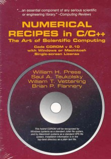 Numerical Recipes in C & C++ Source Code CD-ROM with Windows, DOS, or Mac Single Screen License - William H. Press, Brian P. Flannery, Saul A. Teukolsky