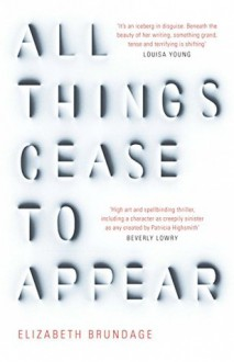 All Things Cease to Appear: A novel - Elizabeth Brundage