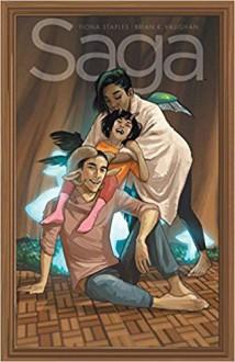 Saga Volume 9 - Fiona Staples,Brian K. Vaughan