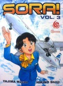 Sora! Vol. 3 - Yajima Masao, Hikino Shinji