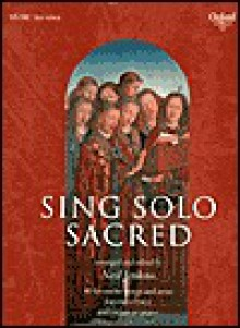 Sing Solo Sacred: High Voice - Neil Jenkins