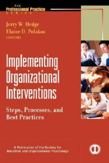Implementing Organizational Interventions: Steps, Processes, and Best Practices - Jerry W. Hedge