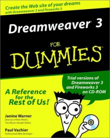 Dreamweaver 3 for Dummies [With CDROM] - Janine Warner
