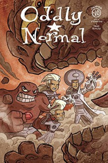ODDLY NORMAL #10 CVR A FRAMPTON & BAILY - Cool Image