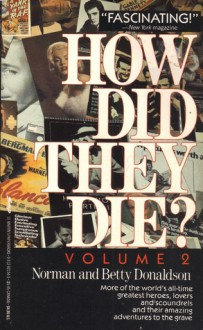 How Did They Die 2 - Norman Donaldson, Betty Donaldson