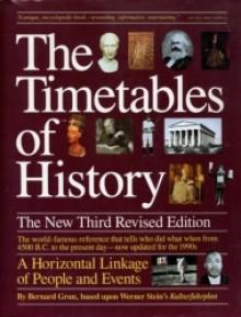 Timetables of History: Horizontal Linkage of People & Events - Bernard Grun