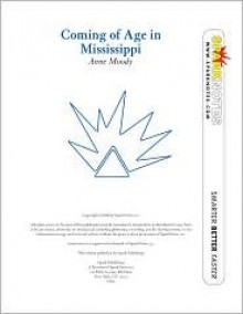 Coming of Age in Mississippi (SparkNotes Literature Guide Series) - SparkNotes Editors