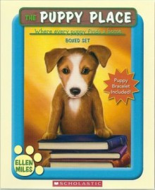 The Puppy Place Boxed Set, Books 1-5: Goldie, Snowball, Shadow, Rascal, and Buddy (Puppy Bracelet Included!) - Ellen Miles