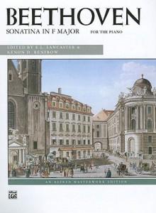 Sonatina in F Major - Ludwig van Beethoven