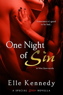 One Night of Sin (An After Hours Novella) - Elle Kennedy