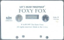 Foxy Fox with Book - Barbara deRubertis, Eva V. Cockrille