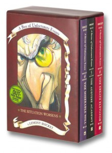 The Situation Worsens: A Box of Unfortunate Events, Books 4-6 - Brett Helquist, Lemony Snicket