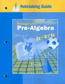 Notetaking Guide: Pre-Algebra - McDougal Littell