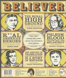 The Believer, Issue 57: October 2008 - Vendela Vida, Vendela Vida, Ed Park