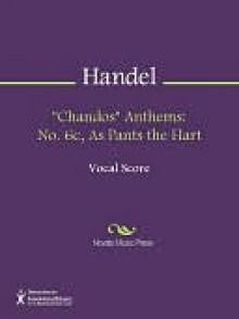 """""""Chandos"""" Anthems - Georg Friedrich Händel"""