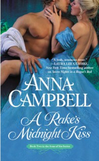 A Rake's Midnight Kiss - Anna Campbell