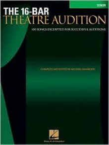 16-Bar Theatre Audition Tenor: Tenor Edition - Michael Dansicker
