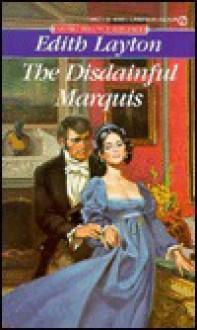 The Disdainful Marquis - Edith Layton