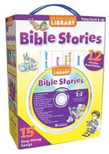 Bible Stories: 12 Chunky Board Books [With CD] - Kim Mitzo Thompson, Karen Mitzo Hilderbrand, Christine Della Penna