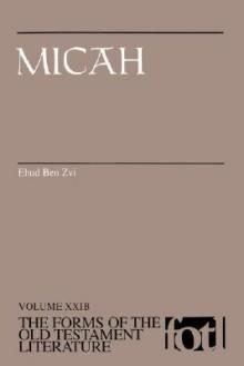 Micah - Ehud Ben Zvi