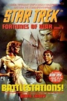 BATTLESTATIONS! (Star Trek #31) - Diane Carey