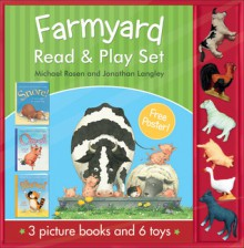 Farmyard Read & Play Set - Michael Rosen, Jonathan Langley