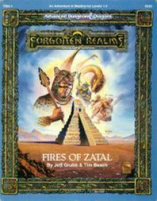 Fires of Zatal (Advanced Dungeons & Dragons, 2nd Edition) - Jeff Grubb, Tim Beach