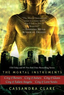 The Mortal Instruments 5 book set - Cassandra Clare