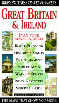 Eyewitness Travel Planner: Great Britain and Ireland (Dk Travel Planners) - DK Publishing