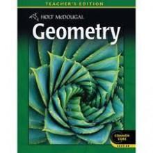 Holt mcdougal geometry teacher edition, edward b. Burger, paul a.