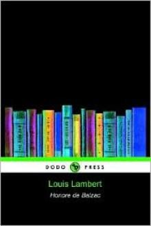 Louis Lambert - Honoré de Balzac, Clara Bell, James Waring