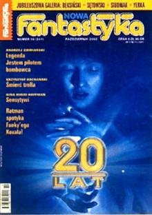 Nowa Fantastyka 241 (10/2002) - Marcin Wolski, Andrzej Ziemiański, Krzysztof Kochański, Lucius Shepard, Iwona Michałowska, Nina Kiriki Hoffman
