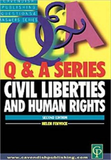 Civil Liberties and Human Rights - Helen Fenwick