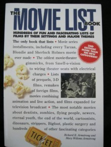 The Movie List Book: Hundreds of Fun and Fascinating Lists of Films by Their Settings and Major Themes - Richard B. Armstrong, Mary Willems Armstrong
