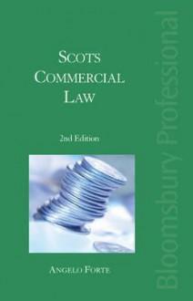 Scots Commercial Law - A.D.M. Forte