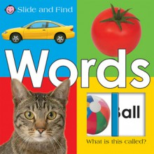 Large Slide and Find Words: Large Slide and Find Words - Roger Priddy