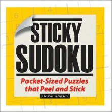 STICKERS: Sticky Sudoku: Pocket-Sized Puzzles That Peel and Stick - NOT A BOOK
