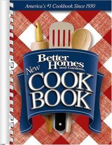 New Cook Book (Better Homes & Gardens New Cookbook) - Better Homes and Gardens